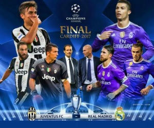 football, Juventus, and champions league image