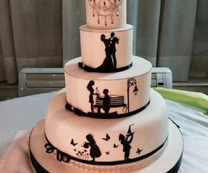 beautiful and cake image