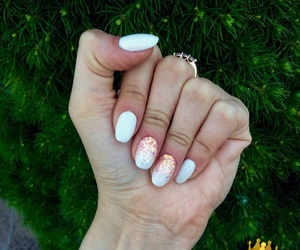 beautiful, nails, and sparkles image