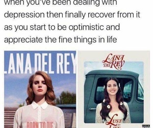 memes, born to die, and lust for life image