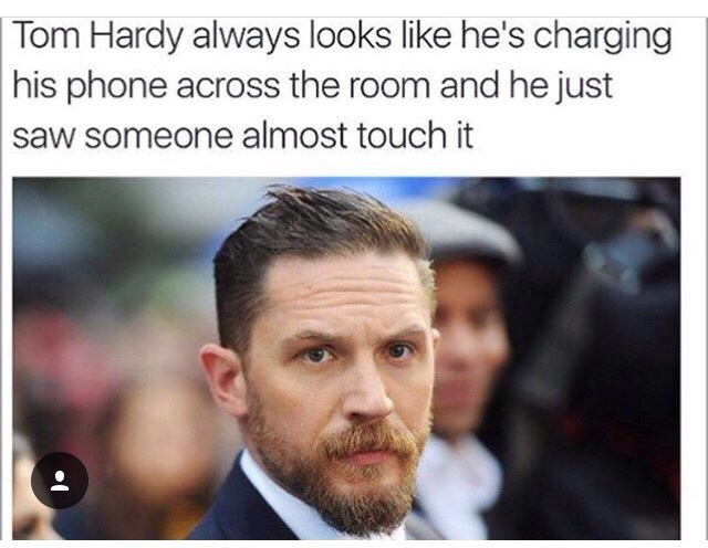 funny, tom hardy, and lol image