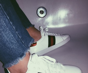 gucci, shoes, and stely image