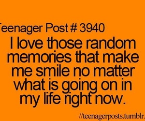 memories, smile, and teenager post image