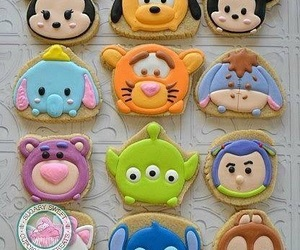 Cookies, disney food, and delicious image
