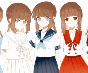 wadanohara, anime, and rpg image