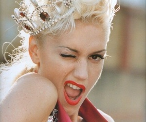 gwen stefani, crown, and Queen image