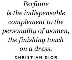 perfume and quote image
