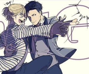 anime, viktor, and yuri on ice image