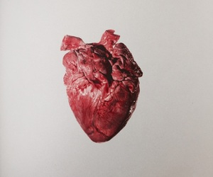 heart and dakr image