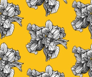 floral wallpaper, wallpaper, and brownwilliam image