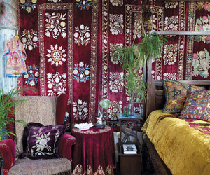 apartment, bohemian, and boho image