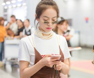airport, amber, and chic image