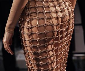 fashion, Balmain, and rose gold image