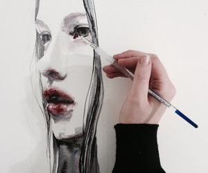 amazing, brows, and art image