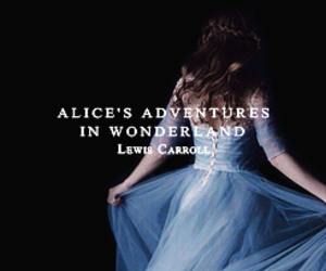 alice in wonderland and pretty image