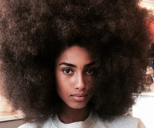 melanin, Afro, and beauty image