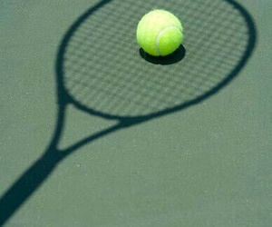 sport, shadow, and tennis image