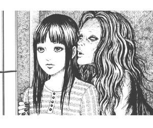 manga, creepy, and horror image