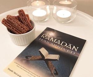 book, cake, and islam image