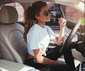 car, girl, and cute image
