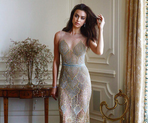 fashion, dress, and irina shayk image