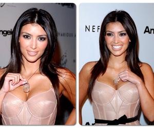beautiful, brunette, and kim image