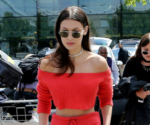 bella hadid, red, and model image