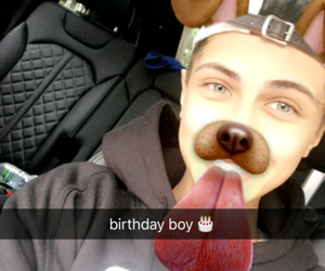 baby, lukas rieger, and birthday image