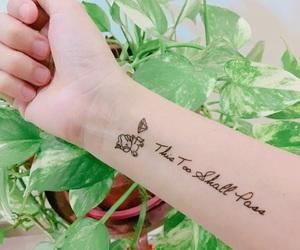 diamond, pretty, and tattoo image