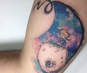art, little prince, and tattoo image