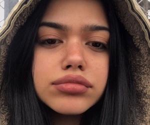 brown eyes, brown hair, and girl image