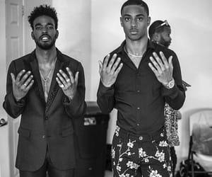 black and white, black men, and fine image