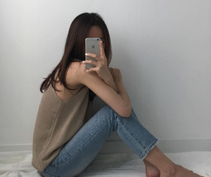 aesthetic, korean, and outfit image