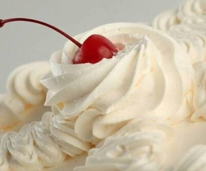 sweet, cherry, and cream image