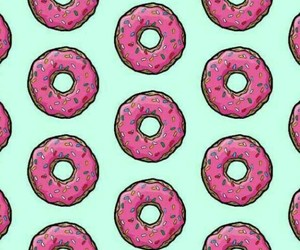 donuts, food, and patterns image