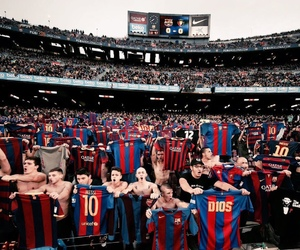 Barca, football, and messi image