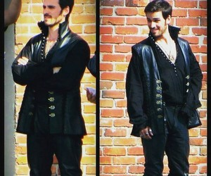 once upon a time, captain hook, and bts image