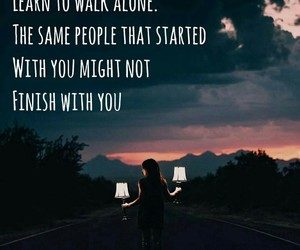 alone, enjoy, and quote image