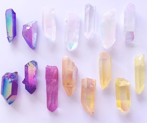 colors, crystal, and crytals image