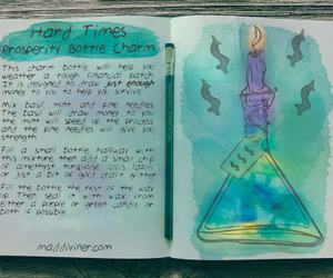 charm, spell, and witchy image