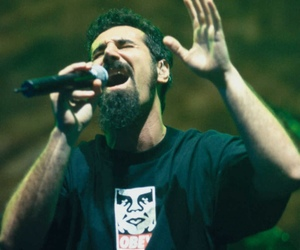 system of a down, serj tankian, and serj image