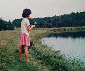 fishing, pet, and team work image