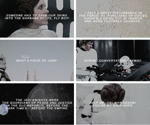 a new hope, quotes, and star wars image