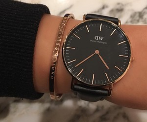 fashion, daniel wellington, and girl image