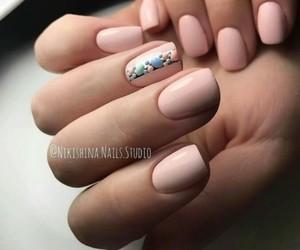 girly, nail polish, and nails image