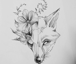 aesthetic, tattoo, and art image
