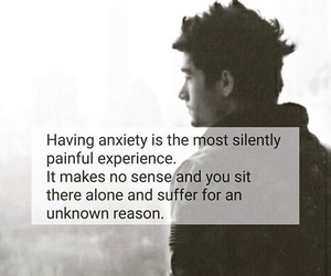 anxiety, quotes, and problems image