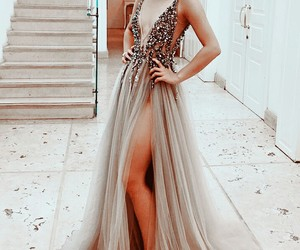 dress, fashion, and pretty image