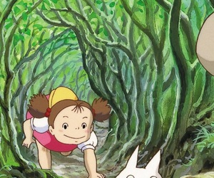 My Neighbor Totoro, studio ghibli, and wallpaper image