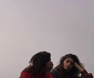kaia gerber, model, and friends image